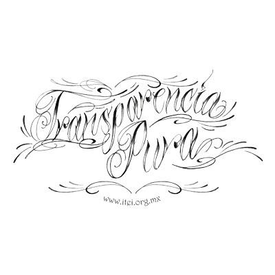 maldita vecindad tatuaje. letras de tatuaje. ITEI :: Campaña por la transparencia 2007
