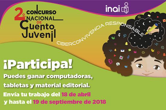 Segundo Concurso Nacional de Cuento Juvenil : INAI