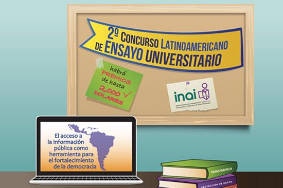 Segundo Concurso Latinoamericano de Ensayo Universitario : INAI