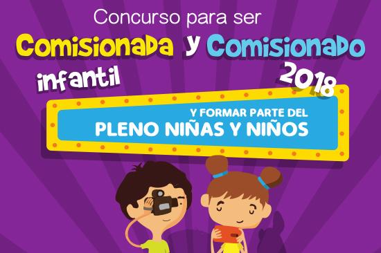 Comisionada y Comisionado Infantil INAI 2018
