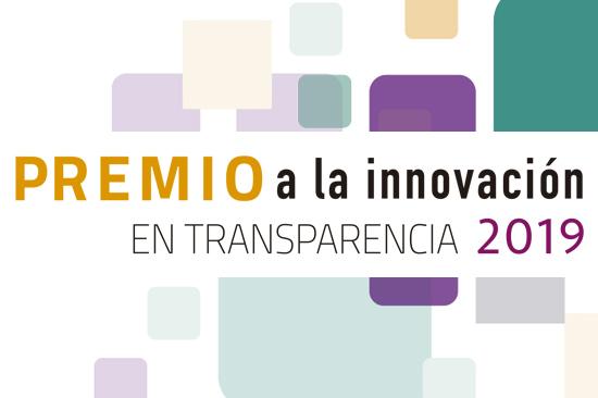 Premio a la Innovación en Transparencia 2019