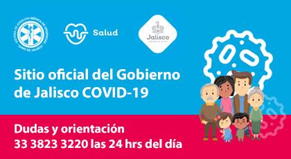 SITIO OFICIAL GOBIERNO DE JALISCO COVID-19