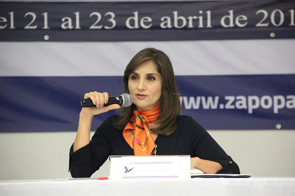 Transparencia y Ética Judicial, necesarias para recuperar confianza: Cynthia Cantero