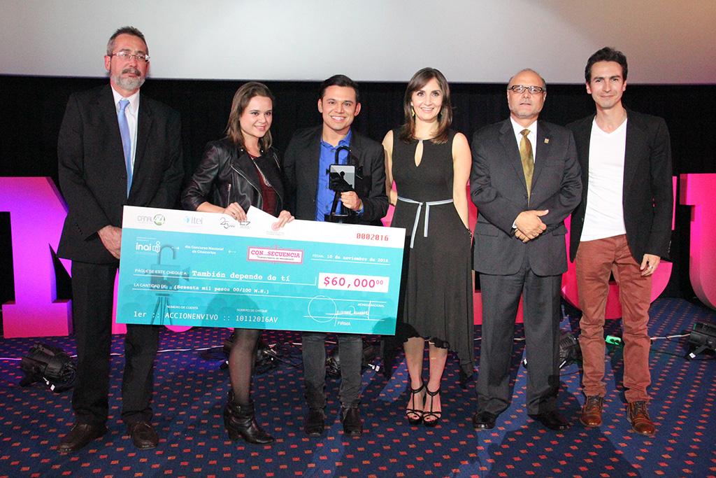 Premia ITEI a ganadores del 4to Concurso Nacional de Cinecortos
