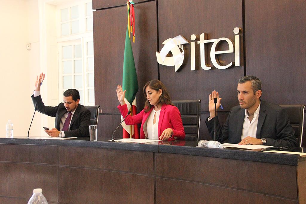 Aprueba Pleno del ITEI nombramientos de funcionarios