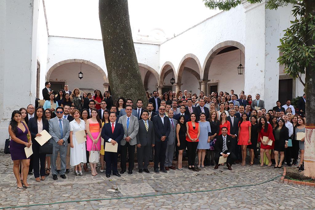 Clausuran trabajos de Diplomado en el que participaron 31 organismos garantes del país, el primero y único en su tipo