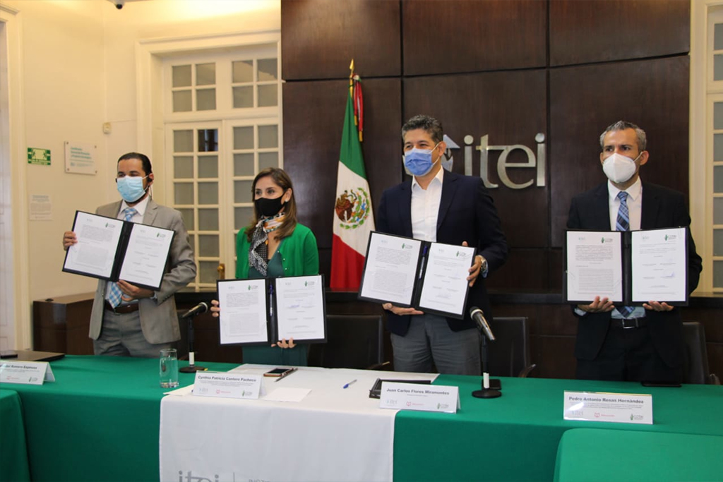 Busca Nuevo León replicar modelo exitoso en Educación Básica implementado en Jalisco, firman convenio COTAI e ITEI para ello