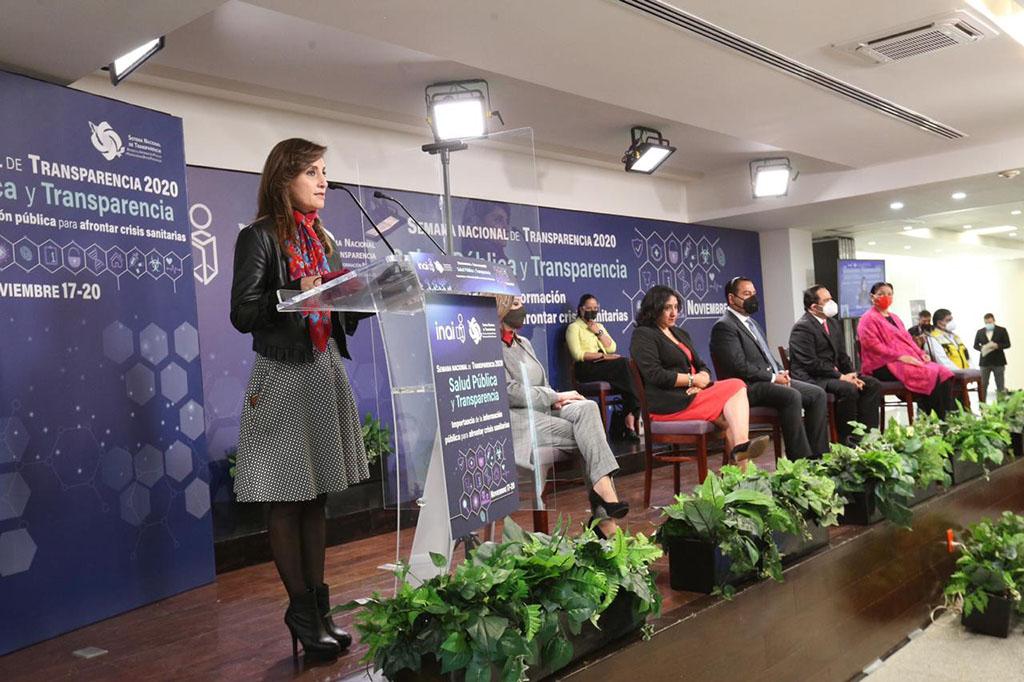 Arranca INAI Semana Nacional de Transparencia 2020, abordarán tema de Salud en contexto actual