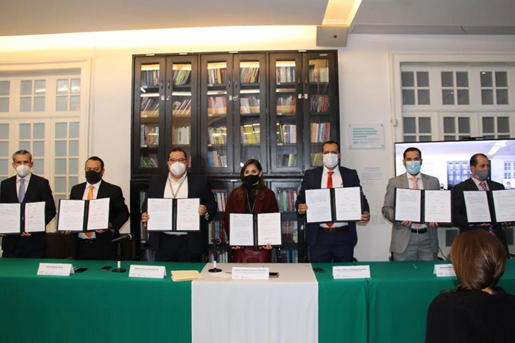 Firman Convenio ITEI y Tribunal de Arbitraje y Escalafón del Estado de Jalisco, recibirán capacitación en uso de Software Test Data