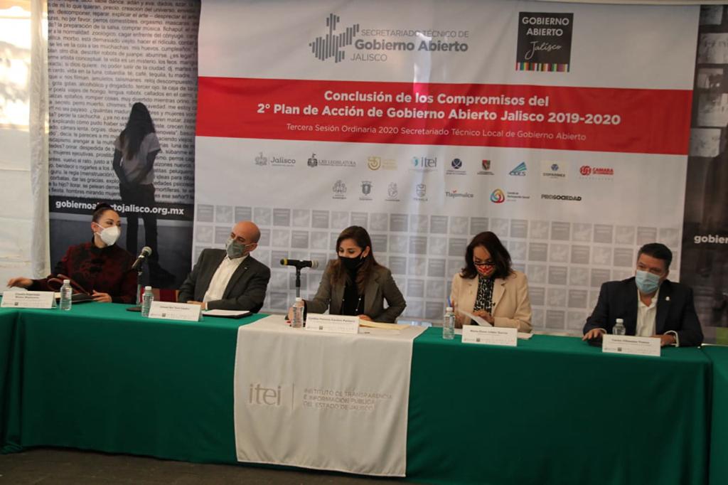 Se desarrolló Tercera Sesión Ordinaria 2020 del Secretariado Técnico Local de Gobierno Abierto, concluyen con 2do Plan de Acción Local