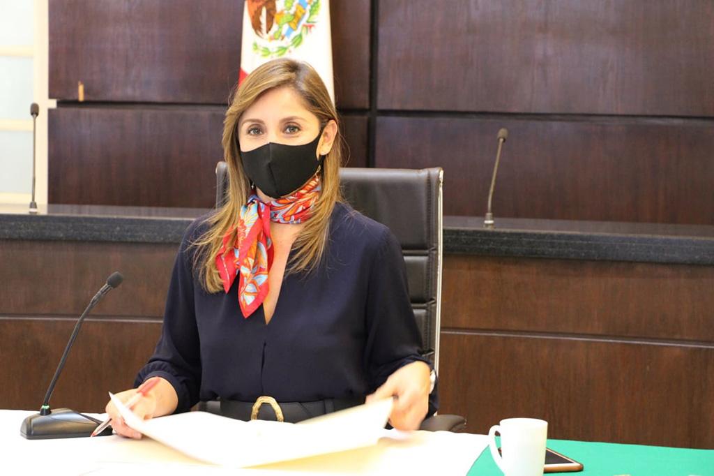 Presenta Cynthia Cantero Informe de Actividades 2020 ante el Pleno del ITEI