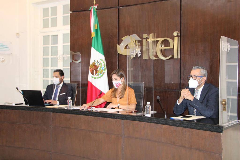 Aprueba Pleno del ITEI firma de Convenio de Colaboración con Transparencia Mexicana, se transferirá Plataforma 3 de 3 por la Integridad