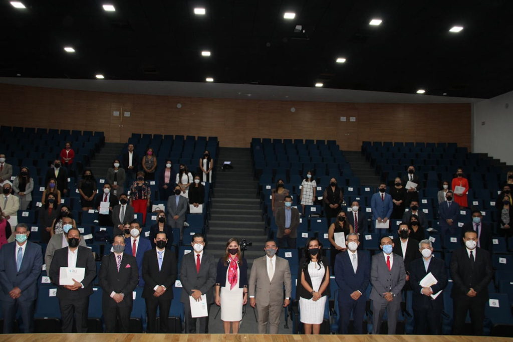 Clausuran Diplomado desarrollado en conjunto con el Poder Judicial, Supremo Tribunal de Justicia y Consejo de la Judicatura