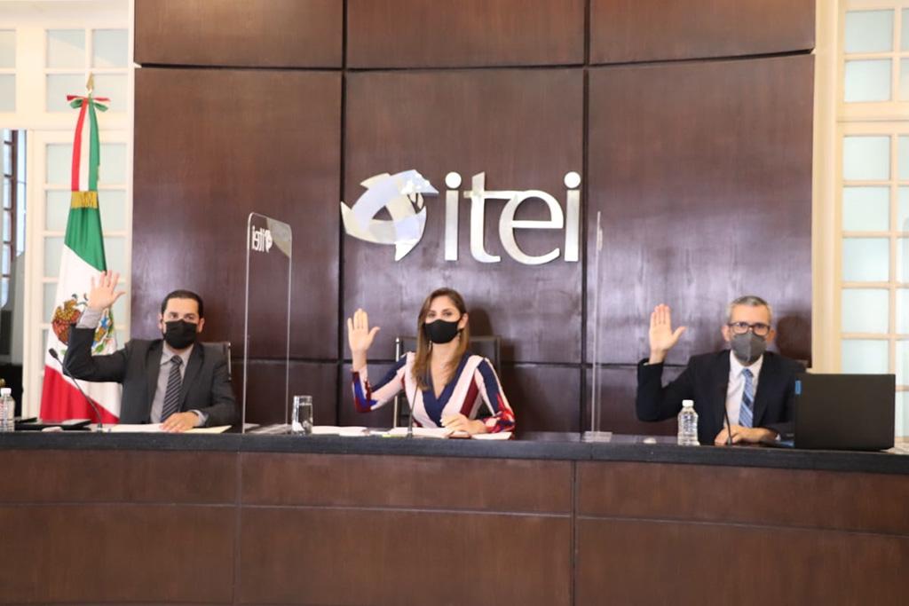 El Pleno del ITEI ordena la publicación de información de varios sujetos obligados en la entidad